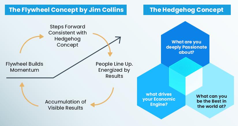 Flywheel and Hedgehog concept