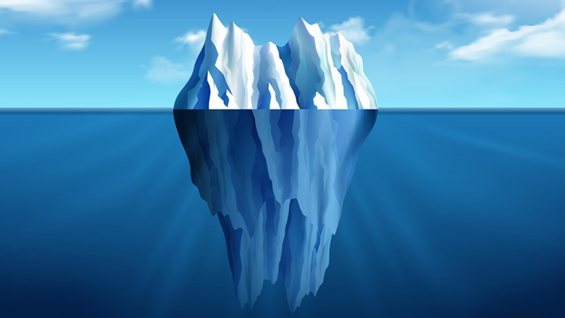 P&C System TCO Is like an iceberg